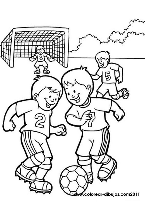 Детские раскраски о футболе