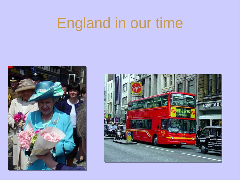 England in our time