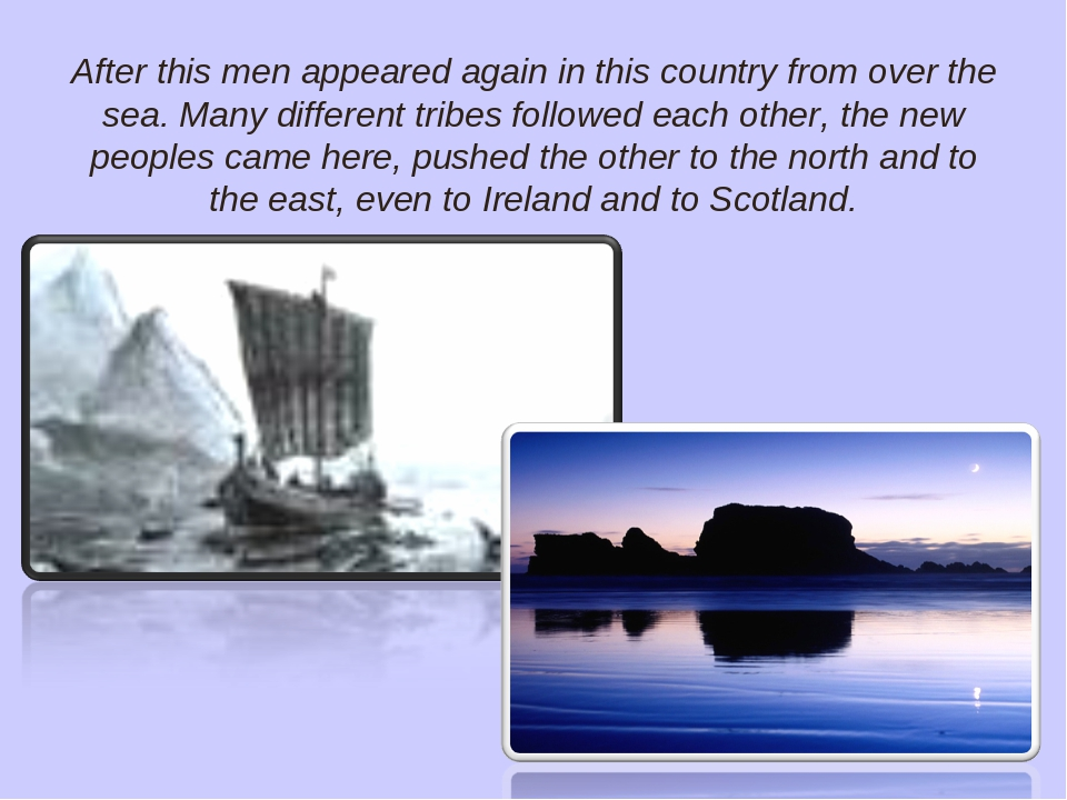 After this men appeared again in this country from over the sea. Many differe...
