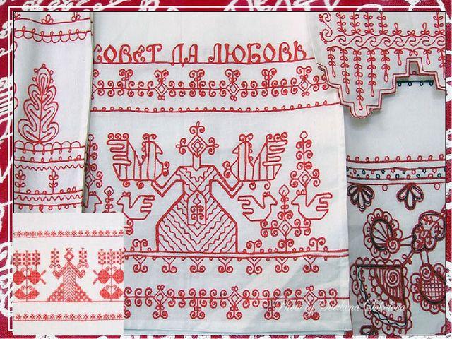 карельская вышивка картинки