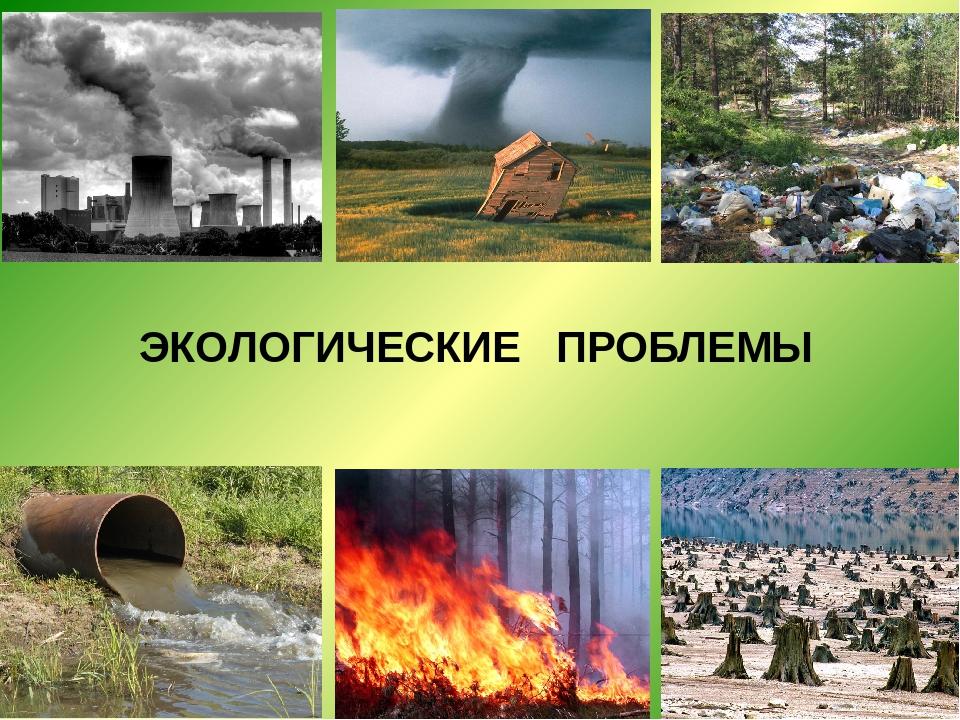 Картинки по экологические проблемы