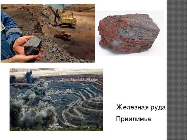 Железная руда Приилимье