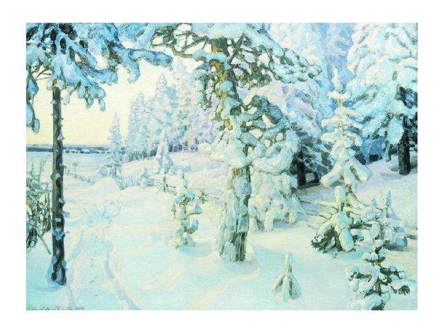 План к уроку рисования на тему зимний пейзаж 2 класс