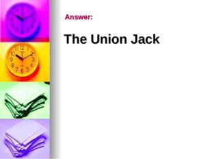 Answer: The Union Jack